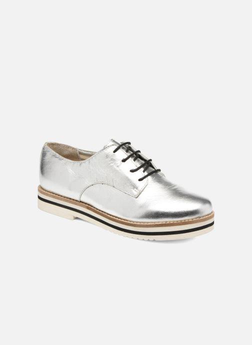 Chaussures à lacets Coolway Avocado Argent vue détail/paire