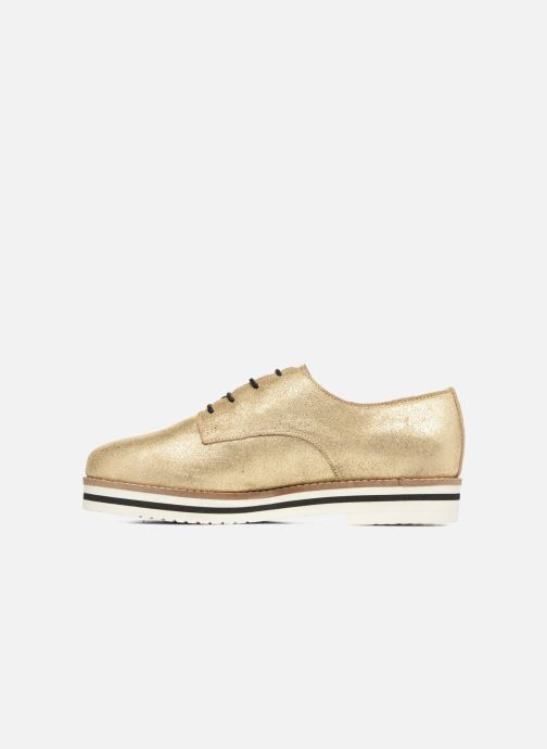 Lace-up shoes Coolway Avocado Bronze and Gold front view