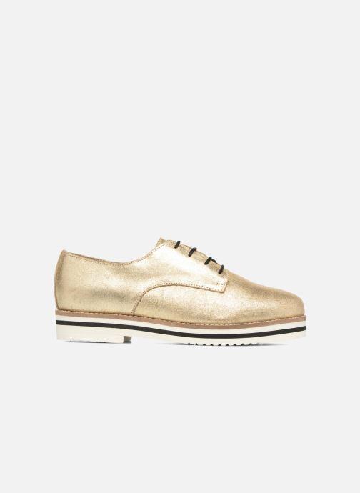Zapatos con cordones Coolway Avocado Oro y bronce vistra trasera