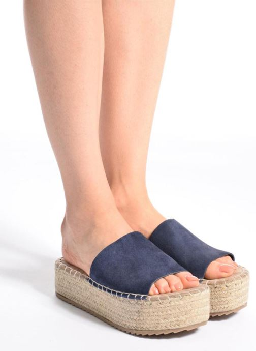 Espadrilles Coolway Bora Pink view from underneath / model view