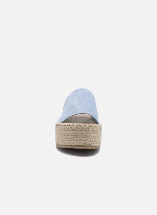 Espadrilles Coolway Bora Bleu vue portées chaussures