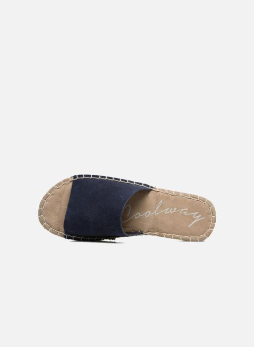 Espadrilles Coolway Bora Blue view from the left