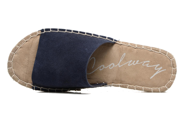 Scarpe di corda Coolway Bora Azzurro immagine sinistra