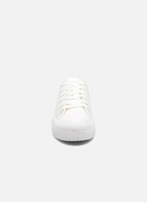 Baskets Coolway Britney Blanc vue portées chaussures