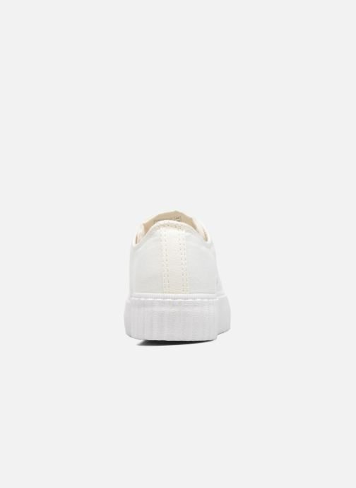 Baskets Coolway Britney Blanc vue droite