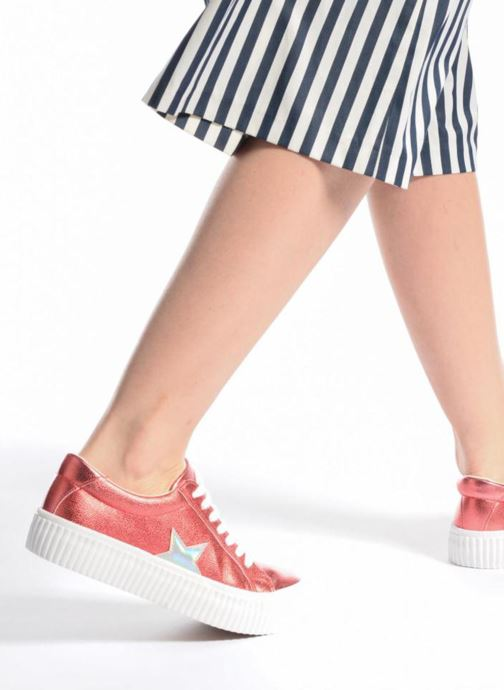 Sneaker Coolway Cherry silber ansicht von unten / tasche getragen