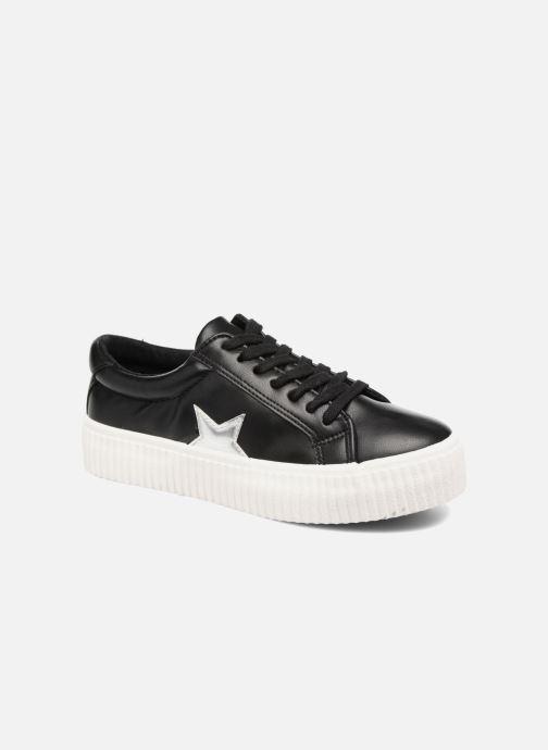 Sneakers Coolway Cherry Sort detaljeret billede af skoene