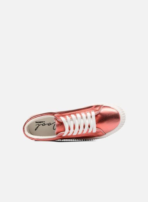 Sneaker Coolway Cherry rot ansicht von links