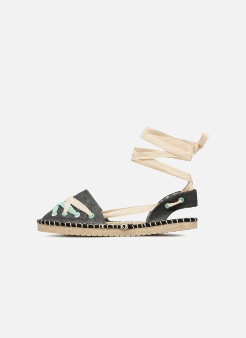 Espadrilles Coolway Guajira Black front view