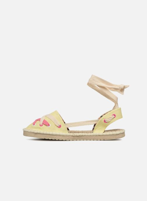 Espadrilles Coolway Guajira Yellow front view