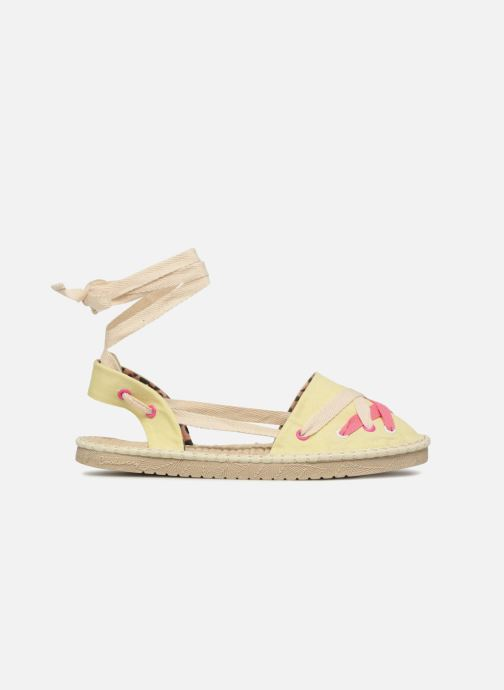 Espadrilles Coolway Guajira Yellow back view