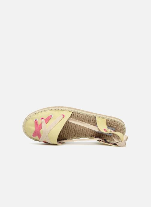 Espadrilles Coolway Guajira Yellow view from the left