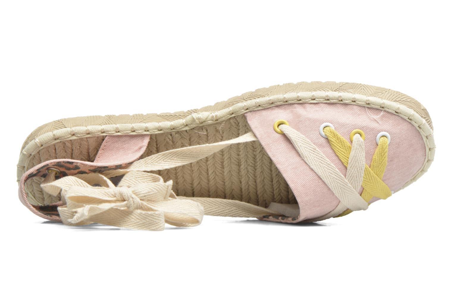 Espadrilles Coolway Guajira Pink view from the left
