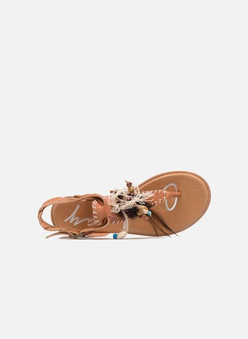 Sandals Coolway Honololu Brown view from the left