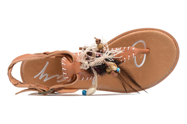 Sandali e scarpe aperte Coolway Honololu Marrone immagine sinistra