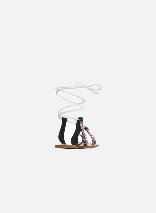 Sandales et nu-pieds Coolway Nassau Bleu vue droite