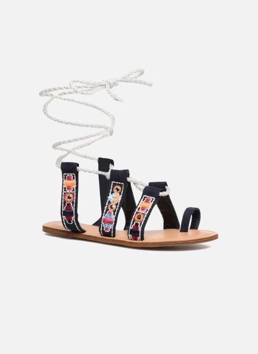 Sandales et nu-pieds Coolway Nassau Bleu vue détail/paire