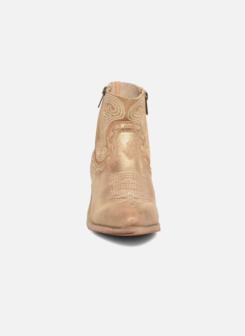 Ankle boots Coolway Onyx Bronze and Gold model view