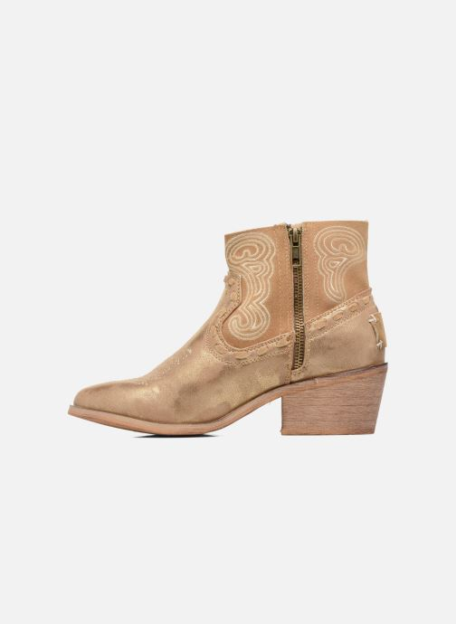 Ankle boots Coolway Onyx Bronze and Gold front view