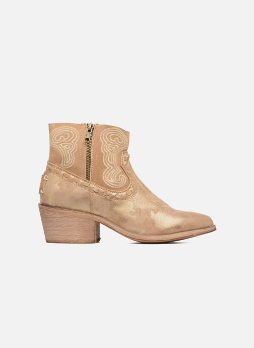 Ankle boots Coolway Onyx Bronze and Gold back view