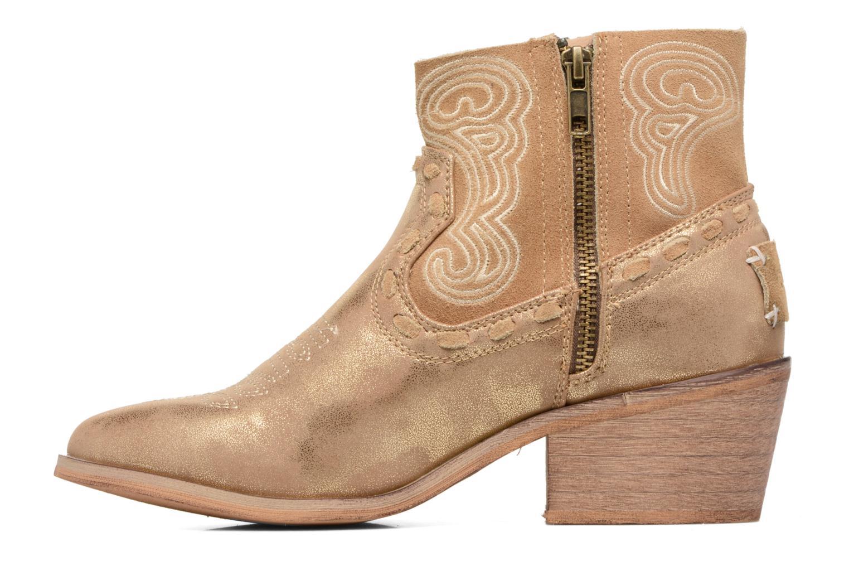 Bottines et boots Coolway Onyx Or et bronze vue face