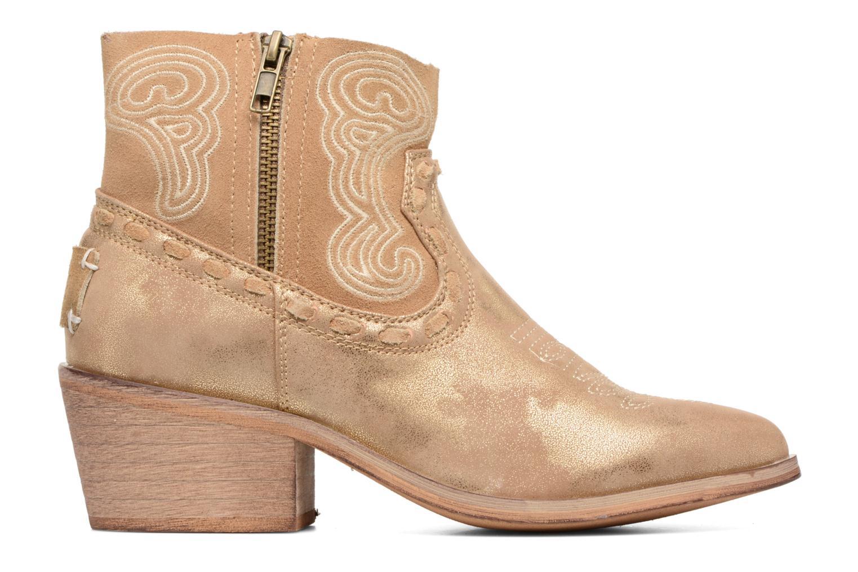 Bottines et boots Coolway Onyx Or et bronze vue derrière