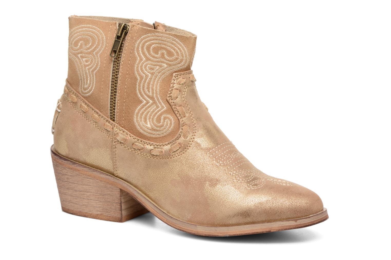 Bottines et boots Coolway Onyx Or et bronze vue détail/paire