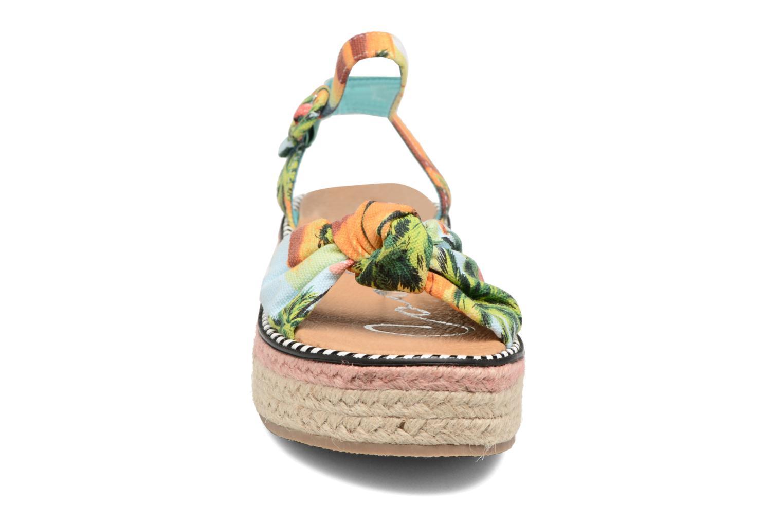 Sandali e scarpe aperte Coolway Parrot Multicolore modello indossato
