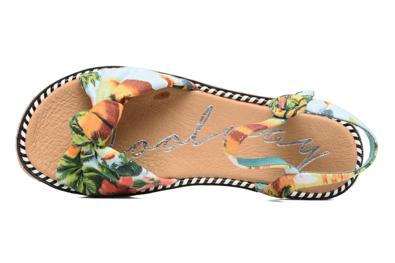Sandali e scarpe aperte Coolway Parrot Multicolore immagine sinistra