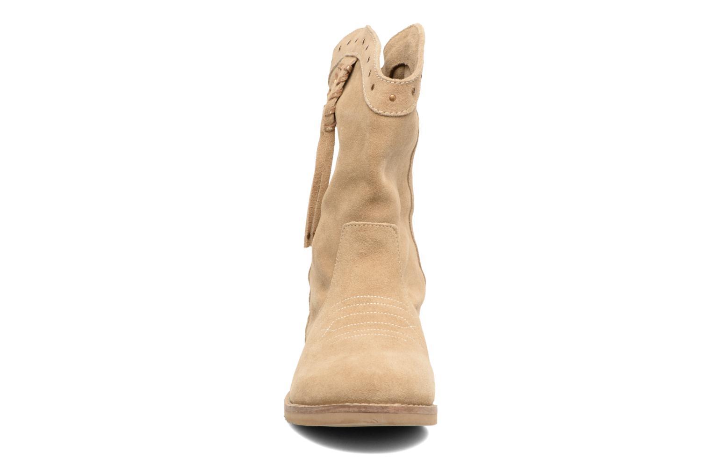 Bottines et boots Coolway Quartz Marron vue portées chaussures