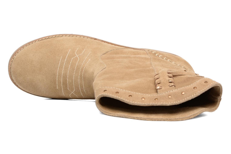 Bottines et boots Coolway Quartz Marron vue gauche