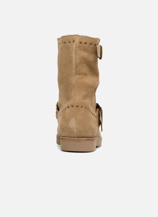 Ankle boots Coolway Mica Brown view from the right
