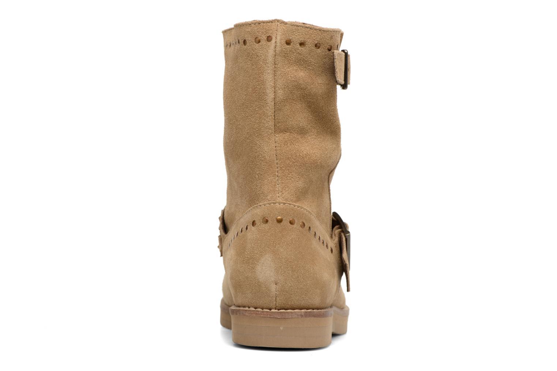Bottines et boots Coolway Mica Marron vue droite