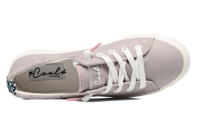 Sneakers Coolway Susie Grijs links