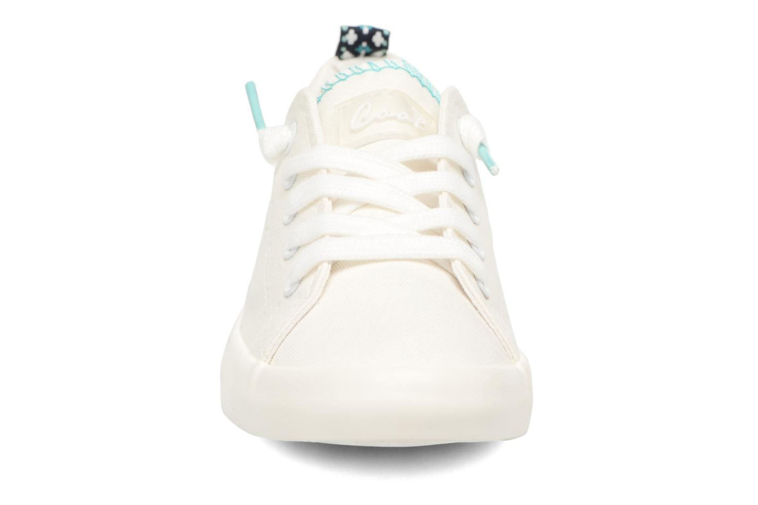 Baskets Coolway Susie Blanc vue portées chaussures