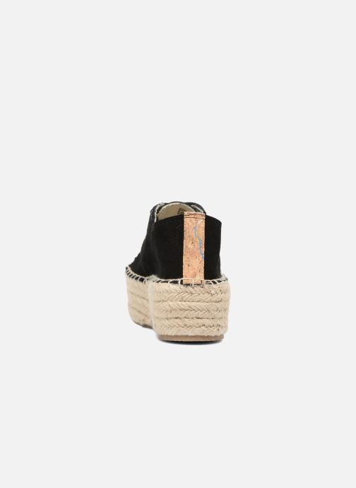 Lace-up shoes Coolway Tango Black view from the right