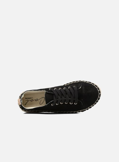 Lace-up shoes Coolway Tango Black view from the left