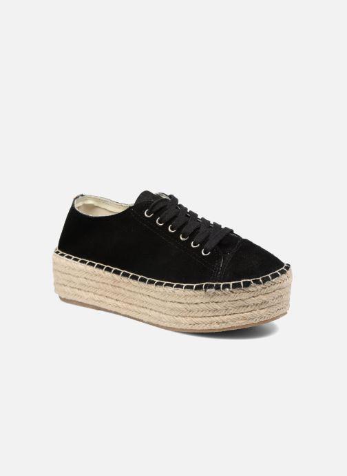 Snøresko Coolway Tango Sort detaljeret billede af skoene