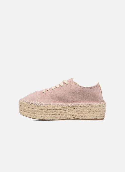 Zapatos con cordones Coolway Tango Rosa vista de frente