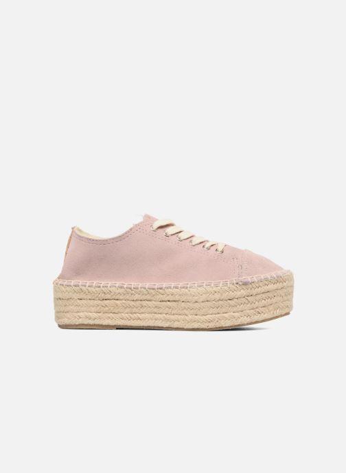 Zapatos con cordones Coolway Tango Rosa vistra trasera