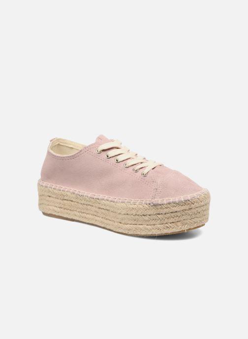 Zapatos con cordones Coolway Tango Rosa vista de detalle / par
