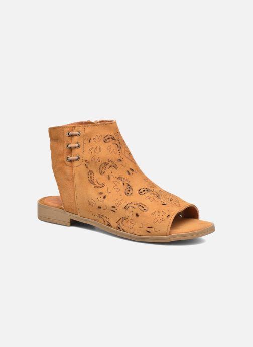 Sandales et nu-pieds Coolway Topaz Marron vue détail/paire