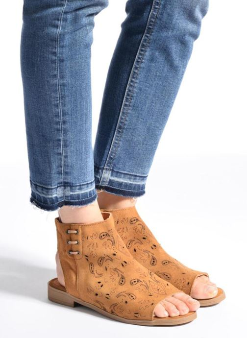 Sandales et nu-pieds Coolway Topaz Argent vue bas / vue portée sac