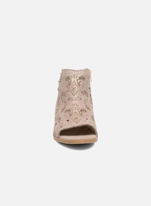 Sandales et nu-pieds Coolway Topaz Argent vue portées chaussures