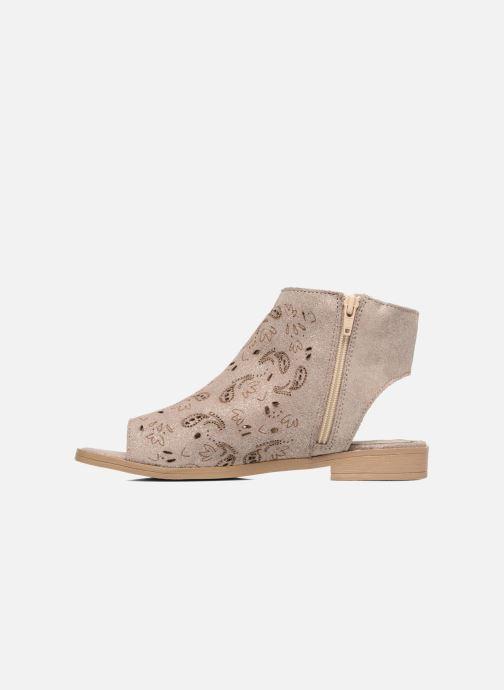 Sandales et nu-pieds Coolway Topaz Argent vue face