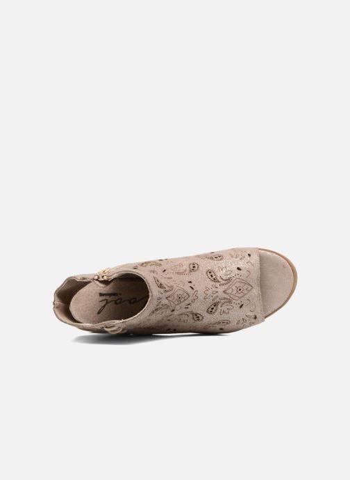 Sandales et nu-pieds Coolway Topaz Argent vue gauche