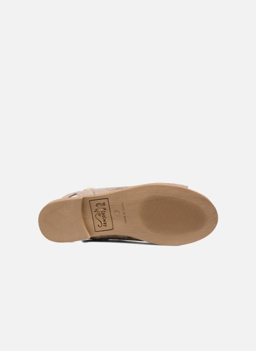 Sandales et nu-pieds Coolway Topaz Argent vue haut
