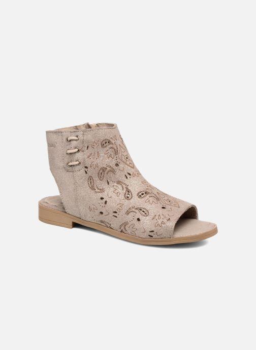 Sandales et nu-pieds Coolway Topaz Argent vue détail/paire