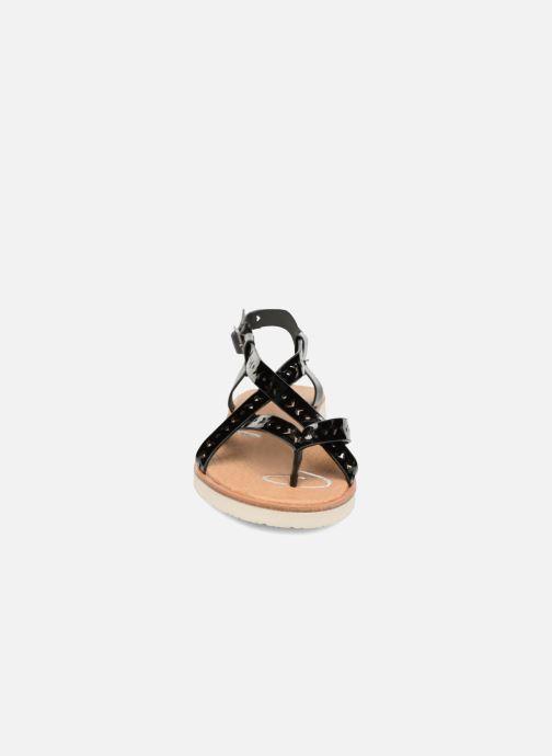 Sandales et nu-pieds Coolway Poppy Noir vue portées chaussures