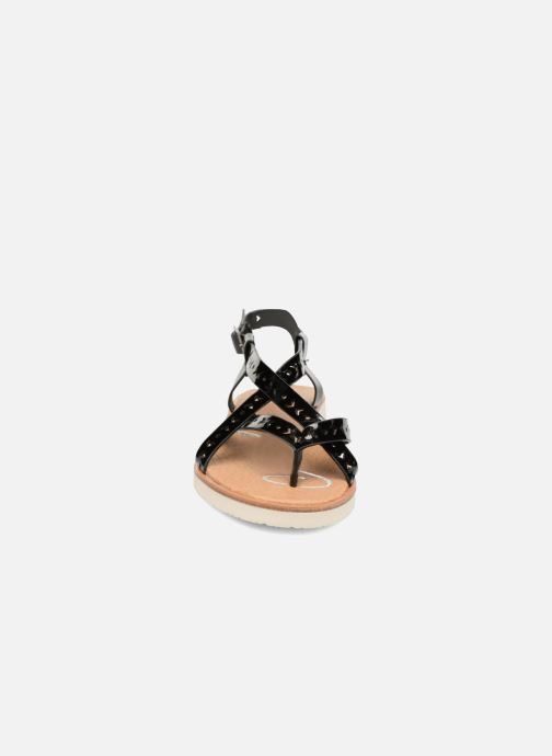 Sandals Coolway Poppy Black model view
